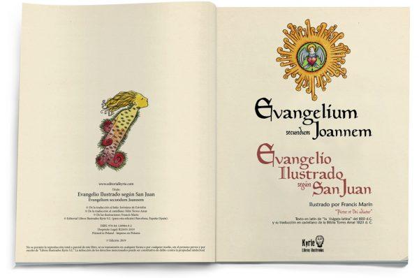 El Evangelio Ilustrado según San Juan (interior5)