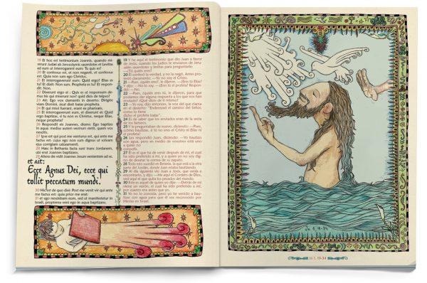 El Evangelio Ilustrado según San Juan (interior3)