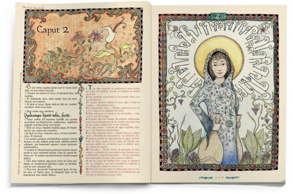 El Evangelio Ilustrado según San Juan (interior1)