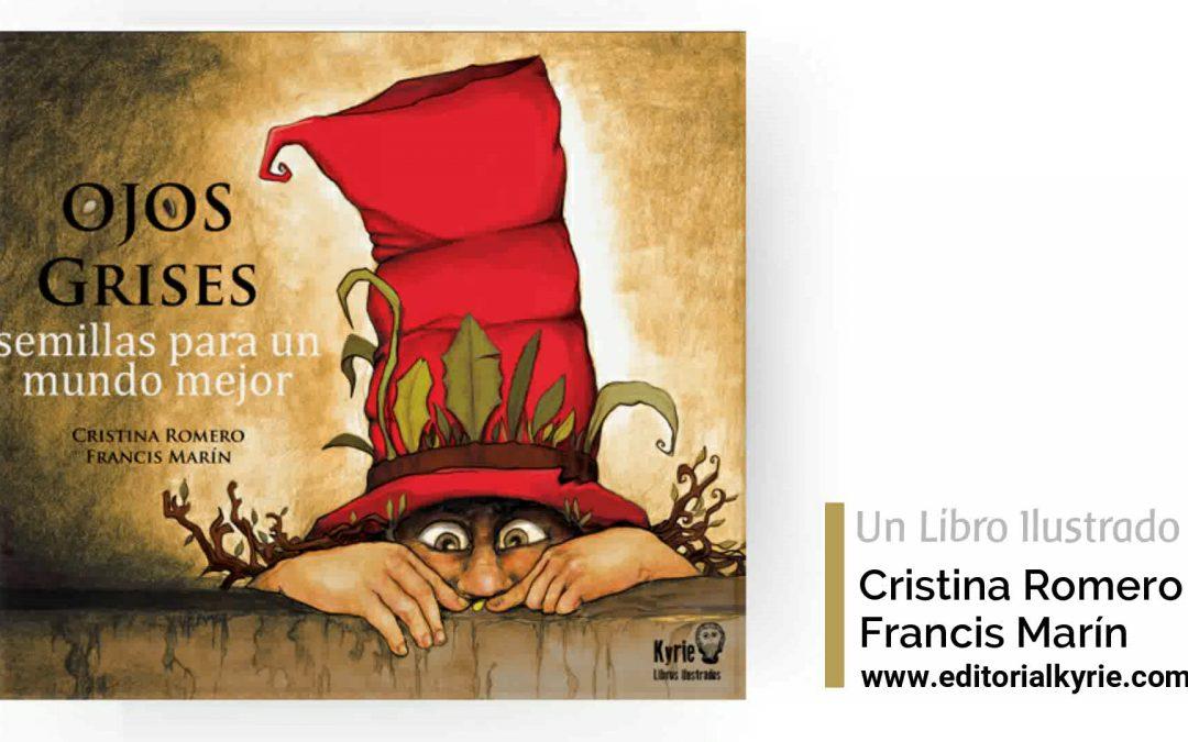 Promoción preventa del nuevo libro de Editorial Kyrie, «Ojos Grises»